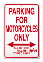 Motorcycles Only Sign: FLMO