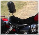 Pro-Tac Backrest for Triumph America