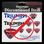 DISCONTINUED Union Jack Domed Decal Set: MSTS12157