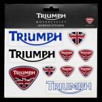 Union Jack Domed Decal Set: MSTS12157