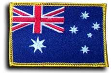 "Country patches 2.25"" X 3.5\"" Rectangular"