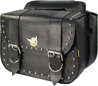 SB340 - Studded Touring Saddlebag