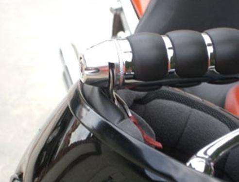 Kewlmetal Helmet Lock