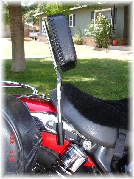 Protac Backrest for Triumph America
