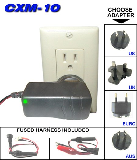 Kisan CXM-10 Wall Mount Battery Charger