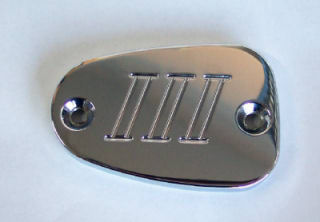 Chrome Brake Reservoir Covers