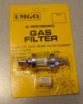 EMGO Glass Fuel Filter: 14-34451