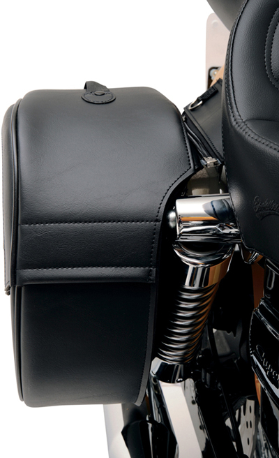 Saddlemen Teardrop Saddlebag Universal Fit - Shock Cutaway Drifter Styling: 3501-0459