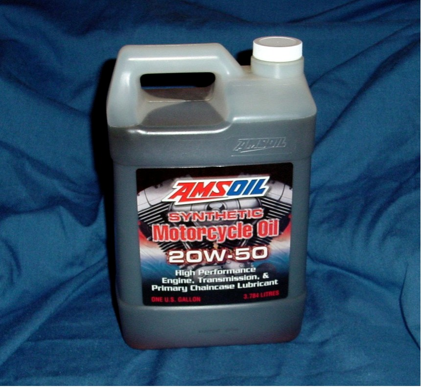 AMSOil SAE 20W-50 Synthetic Motorcycle Oil