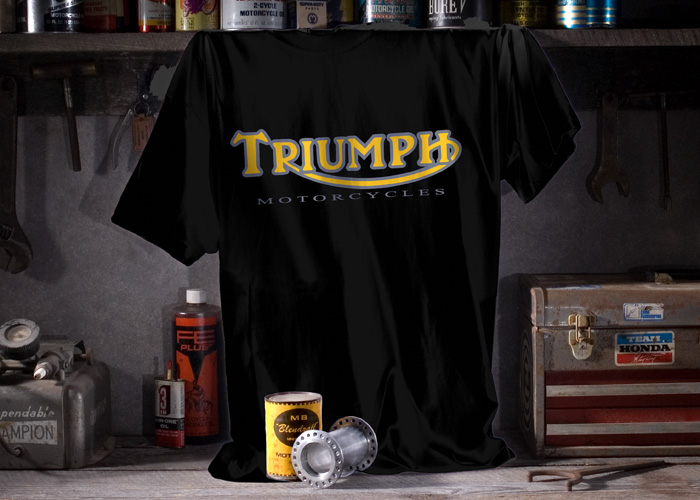 Triumph T Shirts by Metro