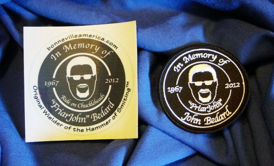 Friar John Memorial Patches and Decals