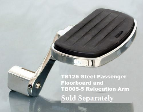 Passenger Floorboard Relocation Arms: TB005-5