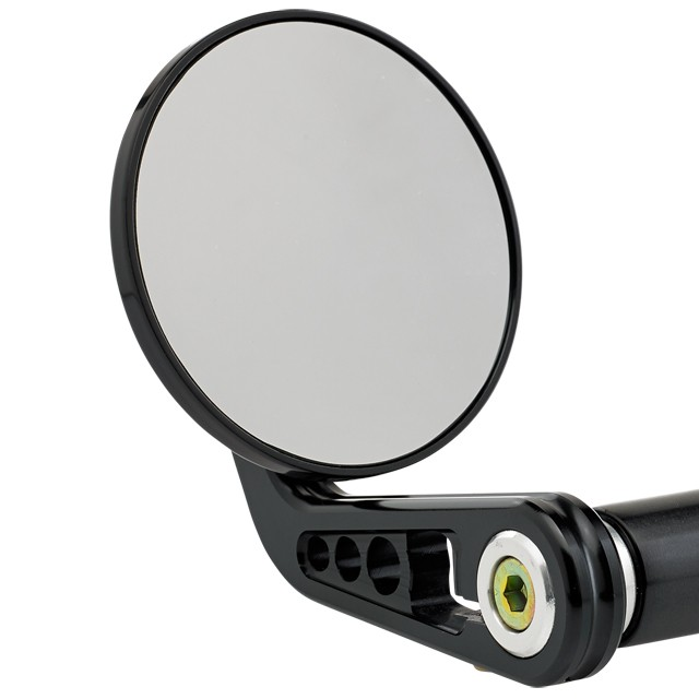 3-1/4 inch Round Bar End Mirrors