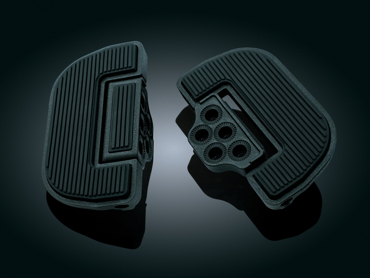 Premium & Ribbed Floorboards for Driver or Passenger for Triumph with adapters