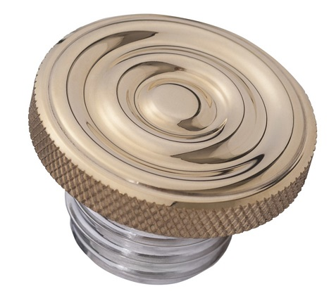 GAS CAP - RIPPLED TOP - VENTED: NXS002