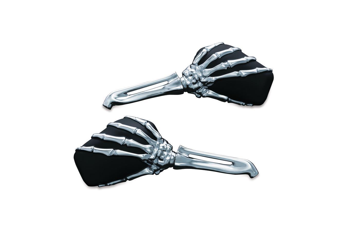 Kuryakyn Skeleton Hand Mirrors