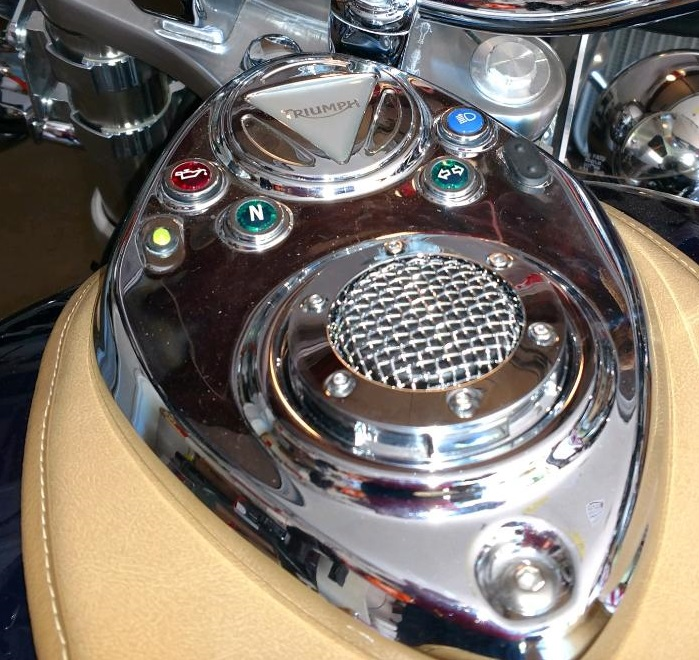 Mesh Style Gas Cap Chrome or Black