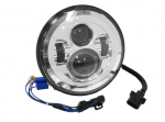 LED 7in HEADLIGHT Chrome Face:  11004