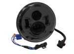 LED 7in HEADLIGHT Black Face: 11005