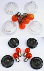 Domed  Smoke Signal Lens Kit