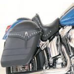 Mustang Fiberglass Studded Saddlebag Set: 13301