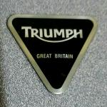Triumph Engine Badge: T3950005