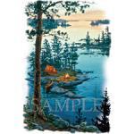Camping/Lake - A11290