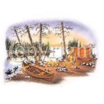 Canoe/Camping- A6593C
