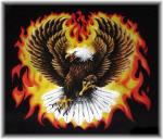 Eagle With Flames - A11310A