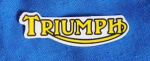 3 in. Triumph Decal