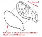 TRIUMPH - Gasket, LH Clutch Side: T1260967