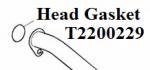 Triumph Header Gasket: T2200229