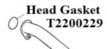 Header Gasket: T2200229