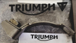 Triumph Large Heat Shield Clamp: T2202421