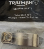 Triumph Small Heat Shield Clamp: T2202440