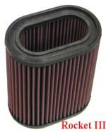 K&N Air Filter Rocket III - TB-2204