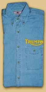Metro Triumph Denim Shirt: DS106