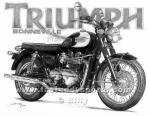 Triumph Bonneville: Billy Art