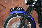 NO DRILL Front Number Plate: NBCA-1087